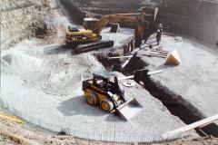 Ottawa County Water Treatment Plant Clarifier under Construction