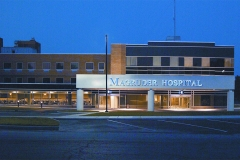 Magruder Hospital New Entrance , Lobby, Conference Rooms, Cafeteria, Physical Therapy,Outpatient and Admission Areas copy