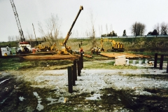 Captains Cove Driving Piling for Grade Beams