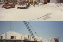 Captains Cove During Construction