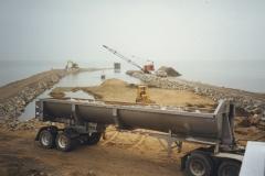 Captains Cove Marina Jetty Construction