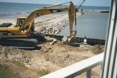 Captains Cove Marina Sheet Piling Installation