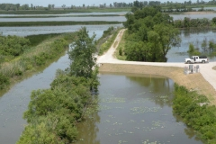Ottawa National Refuge - Pumping Station for Water Level Control to Marshes