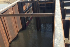 Water Control Structure- Erie Marsh Michigan