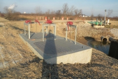 Water Control Sturcture at Blausey Restoration Project for Ottawa National Wildlife Refuge